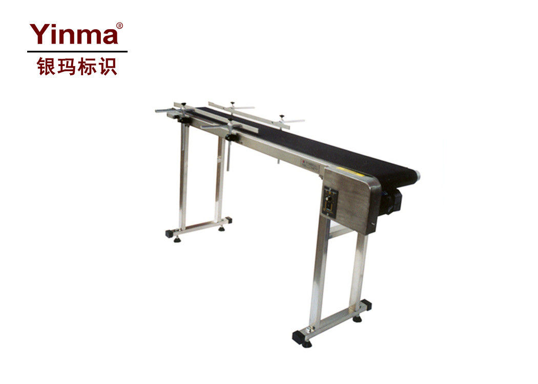 Continuous Printer Conveyor 200mm Belt Width Assistive Device For Inkjet Printers