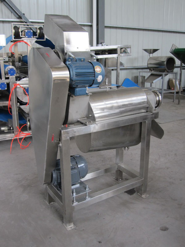 Compact Structure Automatic Filling Machine Crushing Juicer Unit 12.5KW